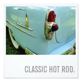 60th Birthday Invitations - Classic Hot Rod