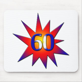 60th Birthday Mouse Pad