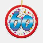 60th Birthday Ornament