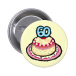 60th Birthday Party Button