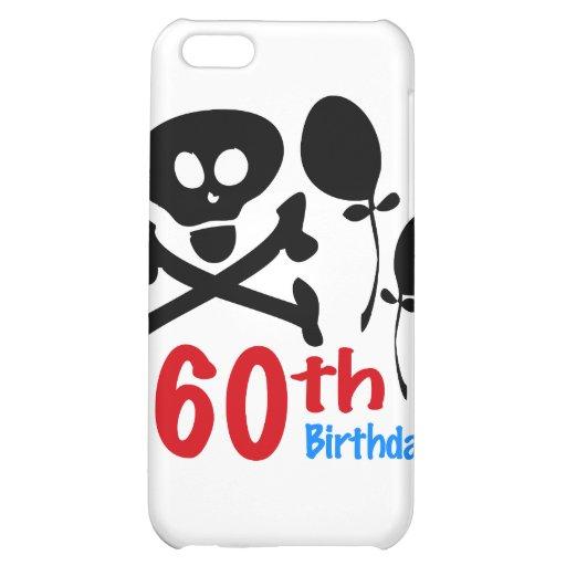 60th Birthday Skull Crossbones Cover For iPhone 5C