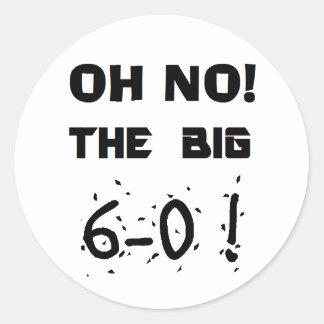 """60th Birthday"" Stickers"