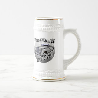 60th Birthday T-shirts and Gifts Beer Stein