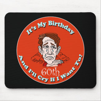 60th Birthday T-shirts and Gifts Mouse Mat