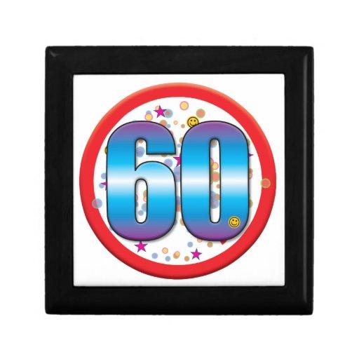 60th Birthday v2 Keepsake Box