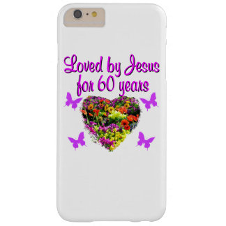 60TH BIRTHDAY WILD FLOWER PHOTO BARELY THERE iPhone 6 PLUS CASE