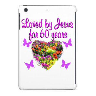 60TH BIRTHDAY WILD FLOWER PHOTO iPad MINI RETINA COVERS