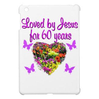 60TH BIRTHDAY WILD FLOWER PHOTO iPad MINI COVER