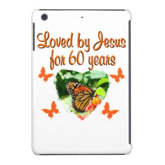 60TH BUTTERFLY BIRTHDAY DESIGN iPad MINI RETINA CASE