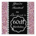 60th Classy Birthday Party Invitation