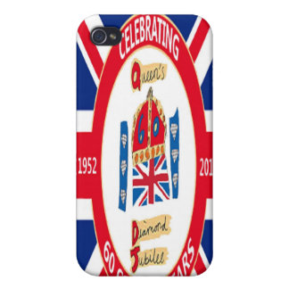 60th Diamond Jubilee Celebration Iphone Case Cases For iPhone 4