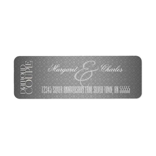 60th Diamond Wedding Anniversary |Address Labels