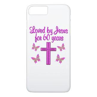 60TH LOVING JESUS iPhone 7 PLUS CASE