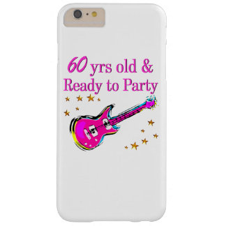 60TH ROCK STAR BARELY THERE iPhone 6 PLUS CASE