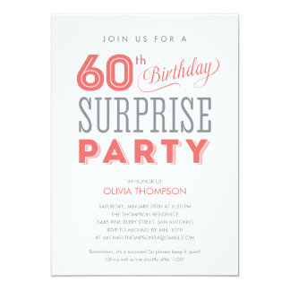surprise birthday invitations & announcements | zazzle.co.uk, Birthday invitations