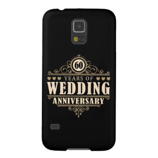 60th Wedding Anniversary Case For Galaxy S5