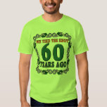 60th Wedding Anniversary Gifts T-shirts