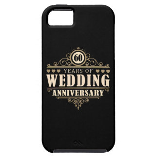 60th Wedding Anniversary iPhone 5 Cover