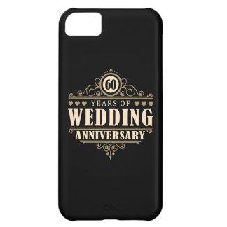 60th Wedding Anniversary iPhone 5C Case