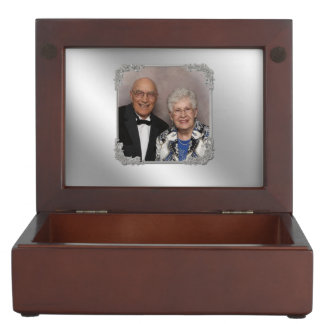 60th Wedding Anniversary Keepsake Box