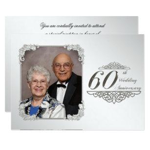 Th wedding anniversary invitations announcements zazzle