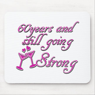 60th year anniversary mouse pad