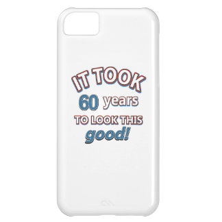60th year birthday designs cover for iPhone 5C