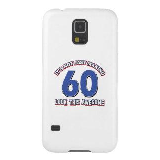 60TH year designs Galaxy S5 Cases
