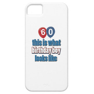 60th year old birthday designs iPhone 5 cases