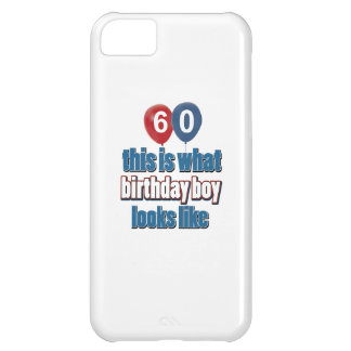 60th year old birthday designs iPhone 5C cover