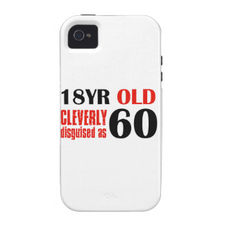 60th year old designs iPhone 4 cover