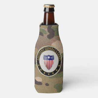 [610] Adjutant General's Corps Branch Insignia [3D Bottle Cooler
