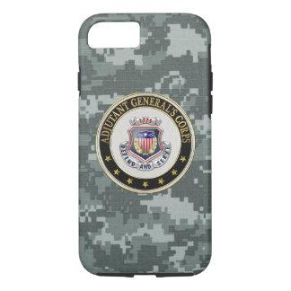 [610] AG Corps Regimental Insignia [3D] iPhone 7 Case
