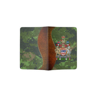 [610] Canada Coat of Arms [3D] Passport Holder