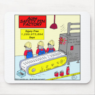 610 safety pin factory cartoon mouse pads