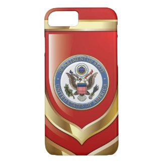 [610] U.S. Department of State (DoS) Emblem [3D] iPhone 7 Case