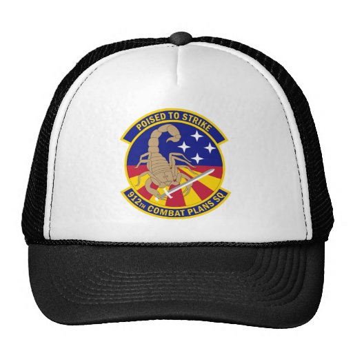612th Combat Plans Squadron - Poised To Strike Hat