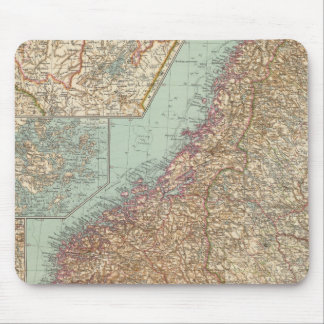 6162 Sweden, Norway Mouse Mat
