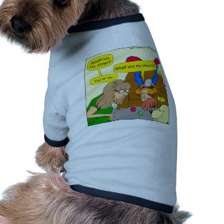 616 want dinner cartoon pet tshirt