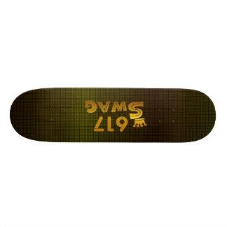 617 Area Code Swag Skateboard Deck