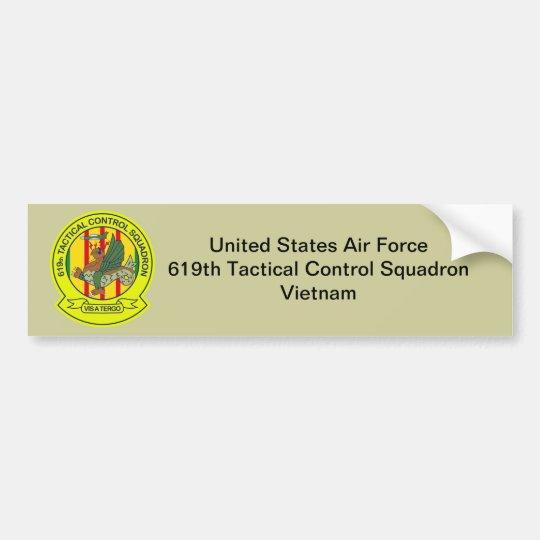 619th Tactical Control Squadron Vietnam Bumper Sticker