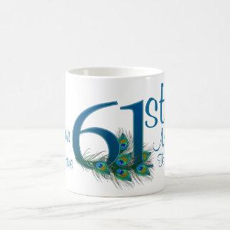 # 61 - 61st Wedding Anniversary or 61st Birthday Coffee Mug