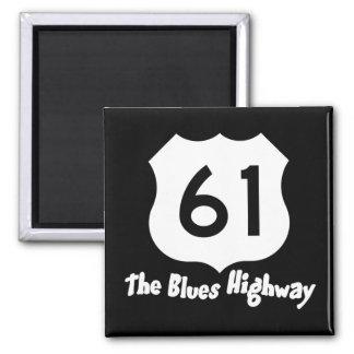 61 Blues Hwy Magnet