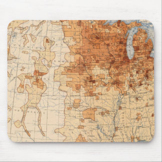 61 Density foreign born Mouse Pad