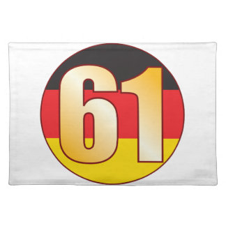 61 GERMANY Gold Placemat
