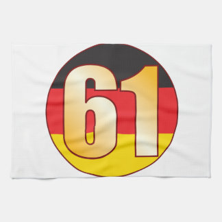 61 GERMANY Gold Towels