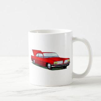 61 Pontiac 2 Door Hardtop Basic White Mug