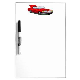 61 Pontiac 2 Door Hardtop Dry Erase White Board