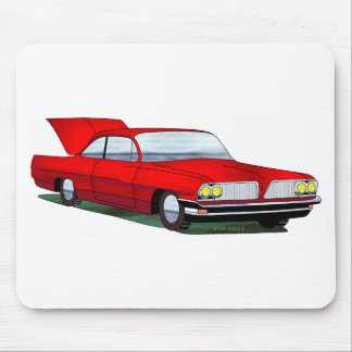61 Pontiac 2 Door Hardtop Mousepad