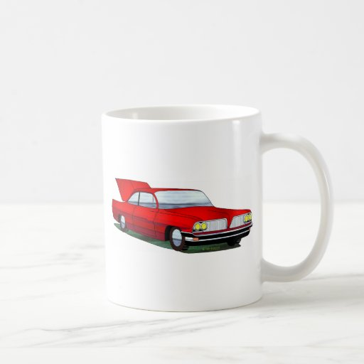 61 Pontiac 2 Door Hardtop Coffee Mugs